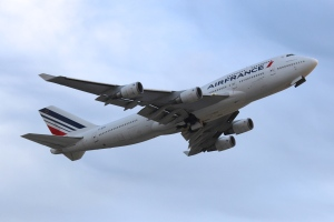 Air France 747-400 as seen at ATL.