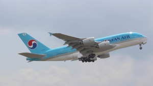 Korean Air Flight #36, Airbus A380, ATL to ICN