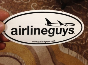 airlineguys sticker