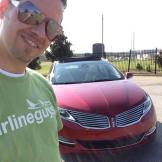 "Darin on a ""date"" with the MKZ"