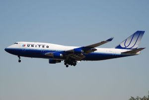 United Airlines B747-400, pic courtesy Aero Icarus via wikimedia commons