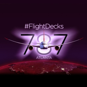 #flightdecks pic courtesy of Virgin Atlantic