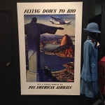 Vintage poster and uniform