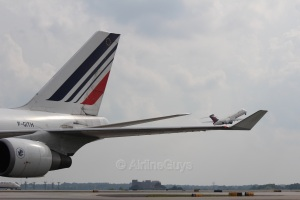 Air France lifts Delta to new heights!